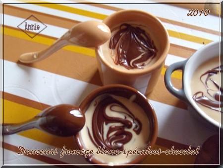 Douceurs au fromage blanc/pâte de spéculoos/chocolat 101123074724683837179069