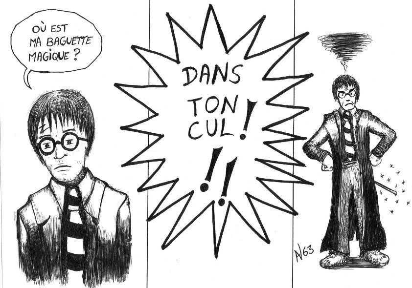 re dessin du 2311 au 3011 harry potter