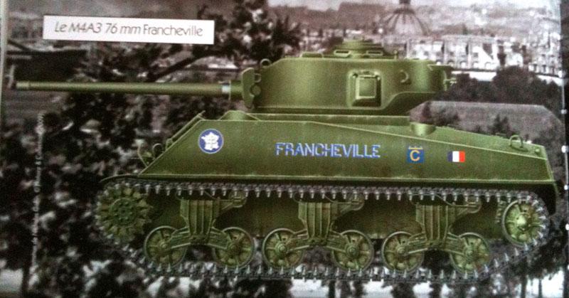 """Recherche sur le Sherman """"FRANCHEVILLE"""" 101129035559795297214656"""