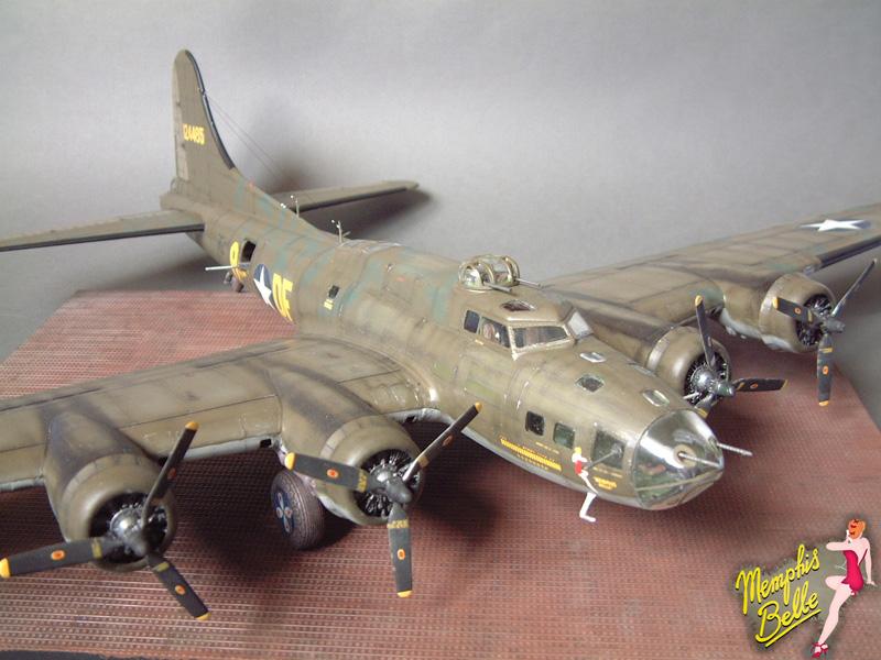 """[Revell] B-17F """"Memphis belle"""", 1/48e 101207030752476907267325"""