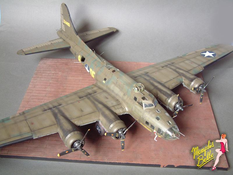 """[Revell] B-17F """"Memphis belle"""", 1/48e 101207030805476907267330"""