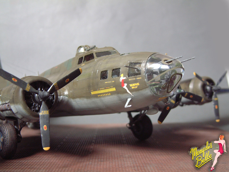 """[Revell] B-17F """"Memphis belle"""", 1/48e 101207030818476907267331"""