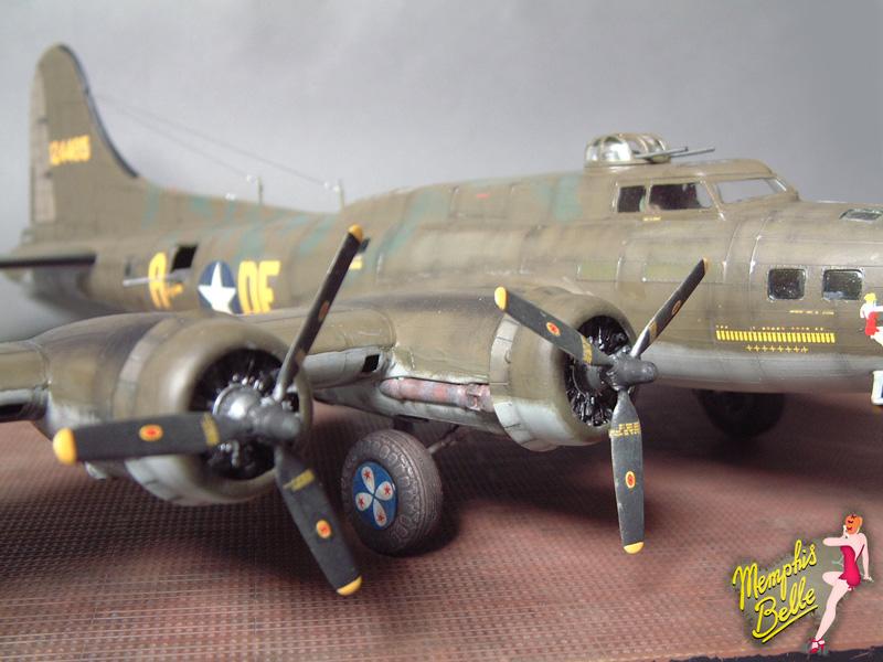 """[Revell] B-17F """"Memphis belle"""", 1/48e 101207030831476907267333"""
