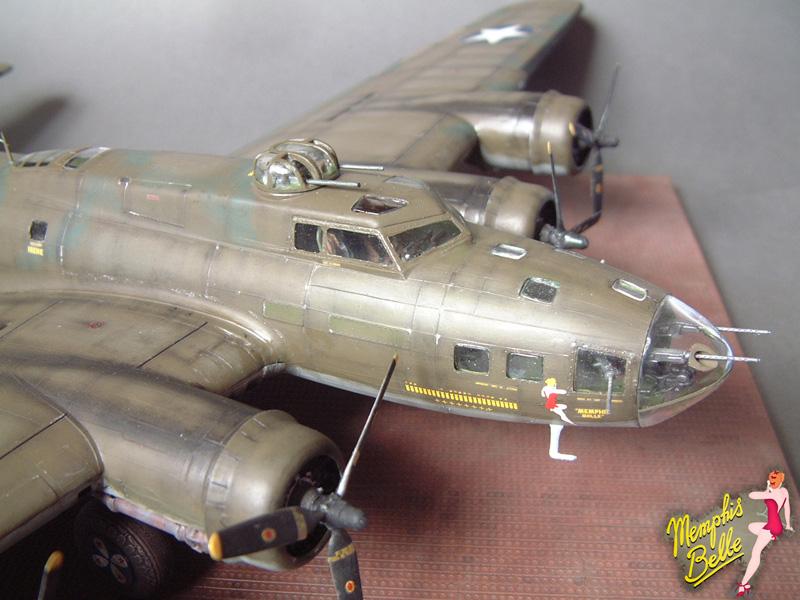 """[Revell] B-17F """"Memphis belle"""", 1/48e 101207030846476907267335"""