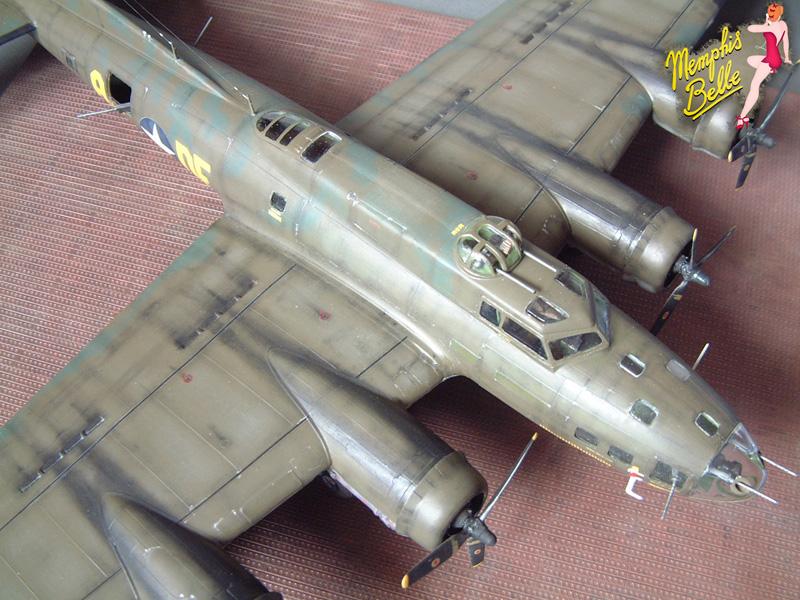 """[Revell] B-17F """"Memphis belle"""", 1/48e 101207030906476907267336"""