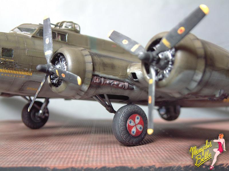 """[Revell] B-17F """"Memphis belle"""", 1/48e 101207030918476907267337"""