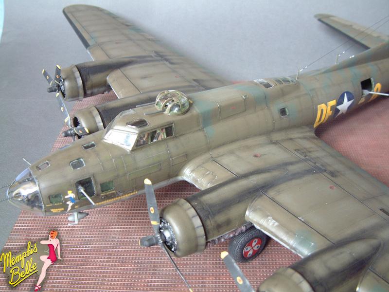 """[Revell] B-17F """"Memphis belle"""", 1/48e 101207030956476907267340"""