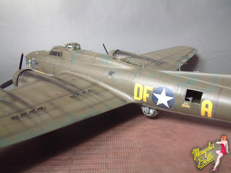 """[Revell] B-17F """"Memphis belle"""", 1/48e 101207031010476907267341"""