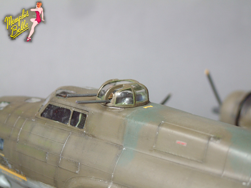 """[Revell] B-17F """"Memphis belle"""", 1/48e 101207031059476907267346"""