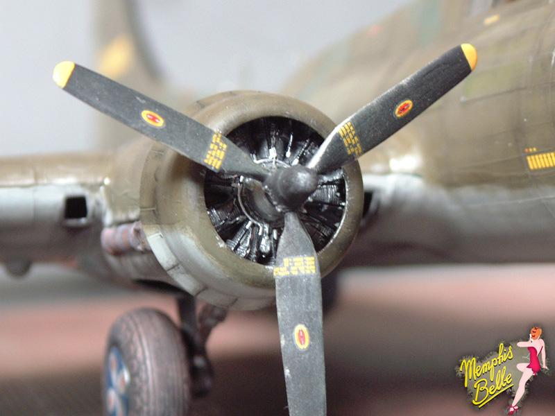 """[Revell] B-17F """"Memphis belle"""", 1/48e 101207031208476907267354"""
