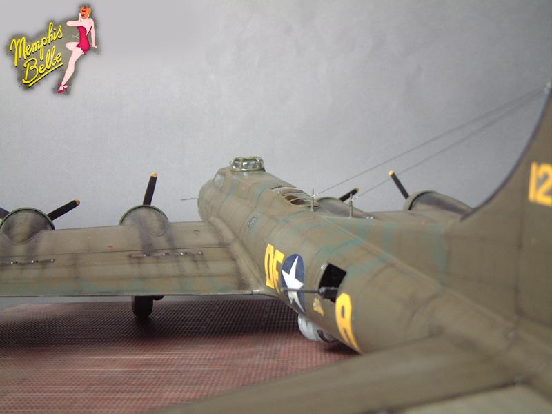 """[Revell] B-17F """"Memphis belle"""", 1/48e 101207031218476907267355"""