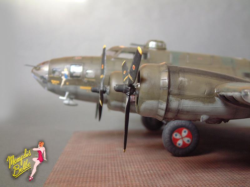"""[Revell] B-17F """"Memphis belle"""", 1/48e 101207031236476907267357"""