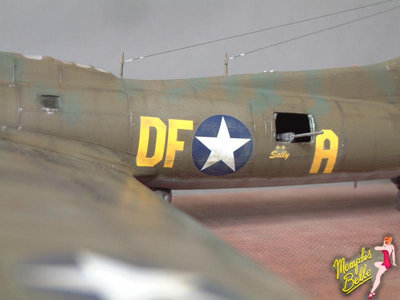 """[Revell] B-17F """"Memphis belle"""", 1/48e 101207031246476907267358"""