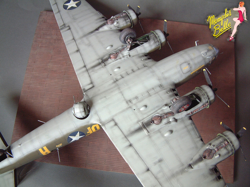 """[Revell] B-17F """"Memphis belle"""", 1/48e 101207031301476907267359"""