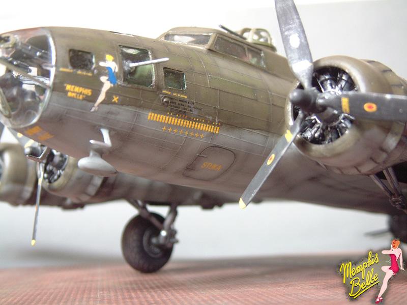 """[Revell] B-17F """"Memphis belle"""", 1/48e 101207031314476907267360"""