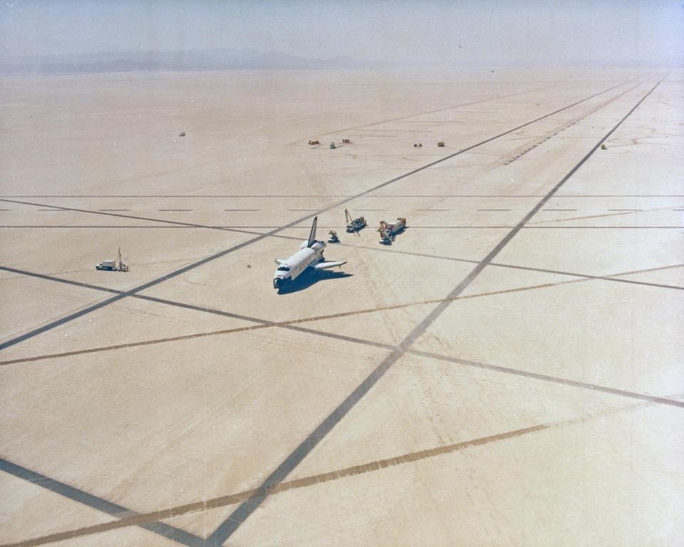space shuttle landing white sands new mexico - photo #26