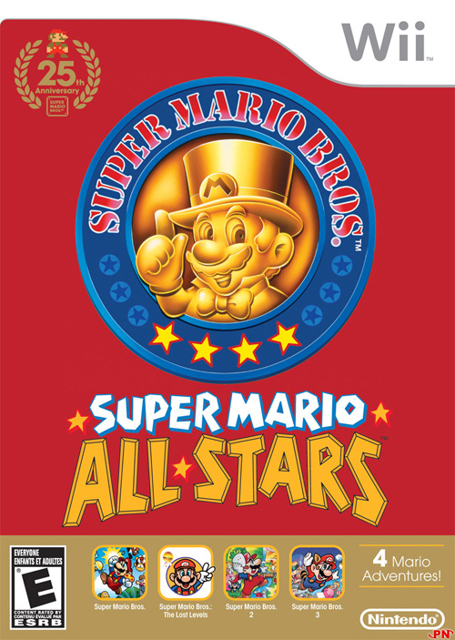 Super Mario All Stars Èdition 25e Anniversaire NTSC Scrubbed