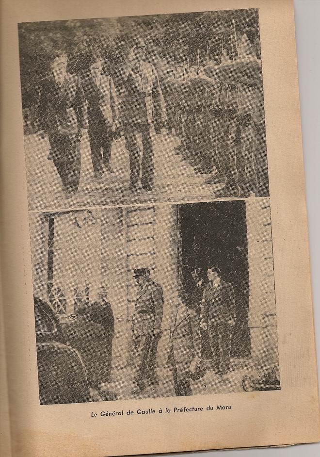 Le Général de Gaulle à Laval le 22 Août 1944 1012160707481221827320972