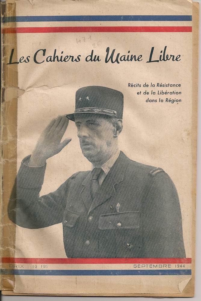 Le Général de Gaulle à Laval le 22 Août 1944 1012160715411221827321016