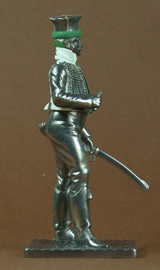 Officier de Hussard en Tenue de Nankin. (Il est fini,...enfin!) 101219114347359347338909