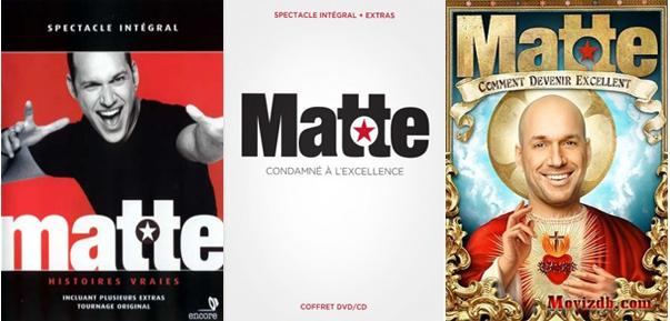 Martin Matte - 2 Spectacles + Bonus