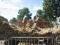La Collancelle -MAIRIE- comice Corbigny 08 août 2010, vieux matériels agricoles