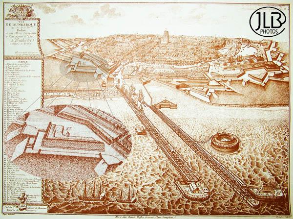 Oude kaarten, gravures en tekeningen van Frans-Vlaanderen 101224043632970737362272