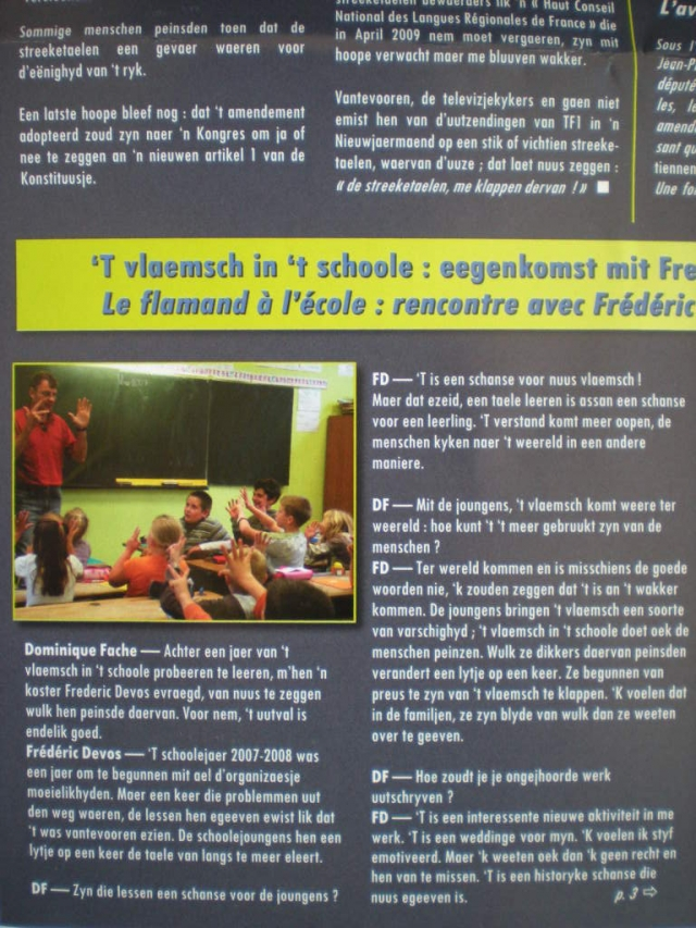 Het Frans-Vlaams in ons onderwijs systeem - Pagina 3 101227034152970737372589