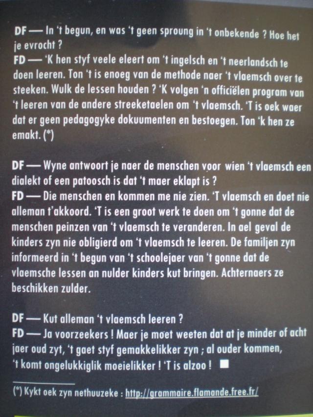 Het Frans-Vlaams in ons onderwijs systeem - Pagina 3 101227034231970737372598