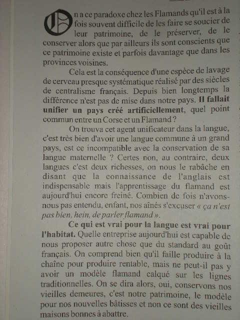De frans vlaamse identiteit en cultuur en zijn toekomst - Pagina 3 110106091713970737429035