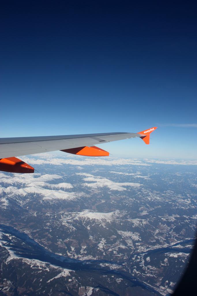 On Top avec Easy Jet 11010906564092717445262