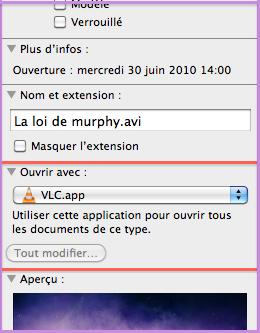 Lecteur VLC par default 1101140237541200807467964