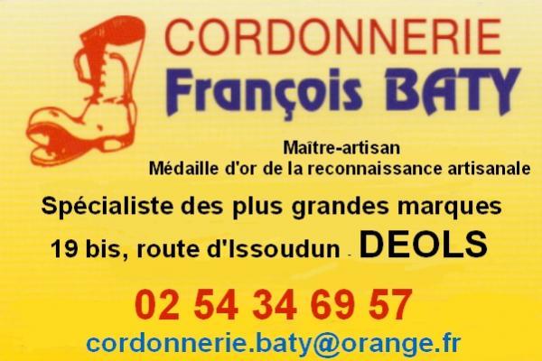 t25. DEOLS - Cordonnerie François BATY 110120095354643127503574