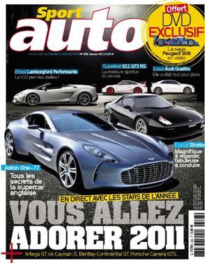 Sport Auto N°588 - Janvier 2011