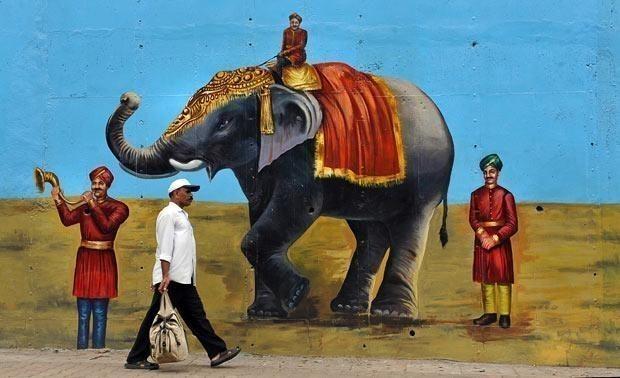 Rues de Bangalore (Inde) dans ARTS DIVERS : 1101210447181066577506524