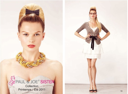 Look Book Paul & Joe Sister 2011 summer été