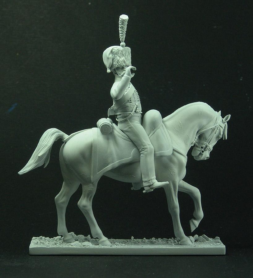 Officier de Hussard en Tenue de Nankin. (Il est fini,...enfin!) 110202081634359347575802