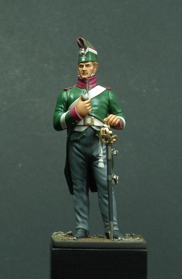 Vitrine de Bernard.S (Métal Modèles, bien entendu...) Trompette des 9ème et 7ème Hussards 110203013442359347577512