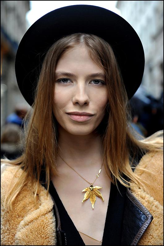 Easy Fashion: Elena Perminova - Rue Cambon - Paris