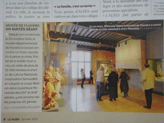 Musée de Flandre in de media 110204085446970737586923