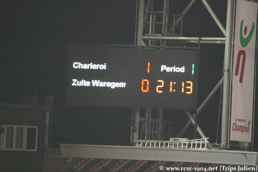 R.Charleroi.S.C - SV Zulte Waregem [Photos] [2-0] 1102061144331011247595488
