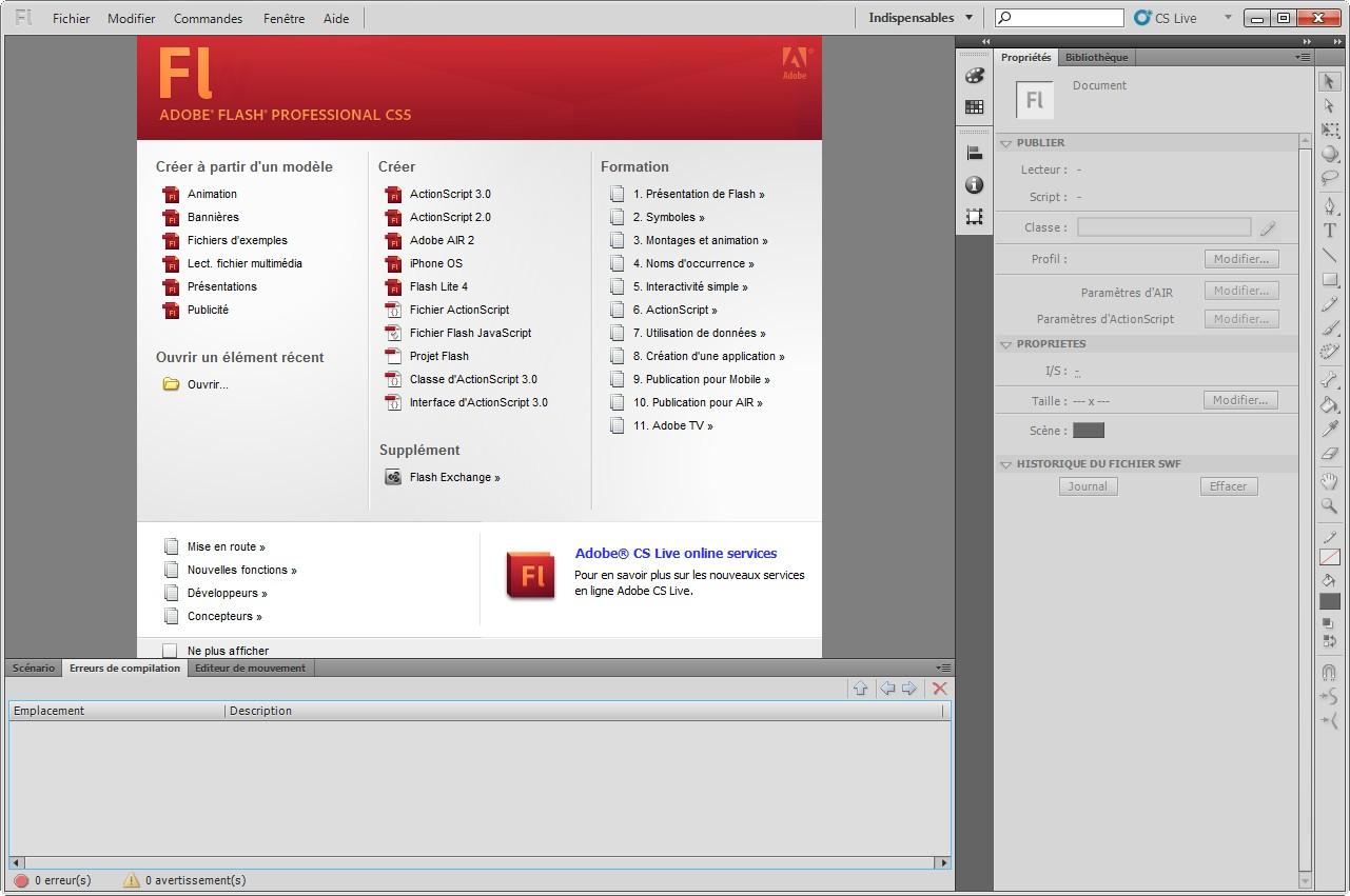 download adobe flash cs5 + crack & keygen