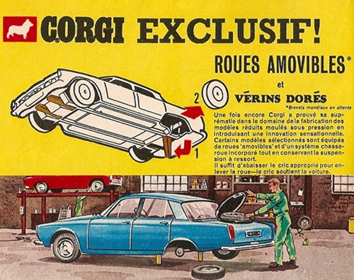 Corgi-Toys n'était pas peu fier de présenter cette gamme. Et il y a de quoi !
