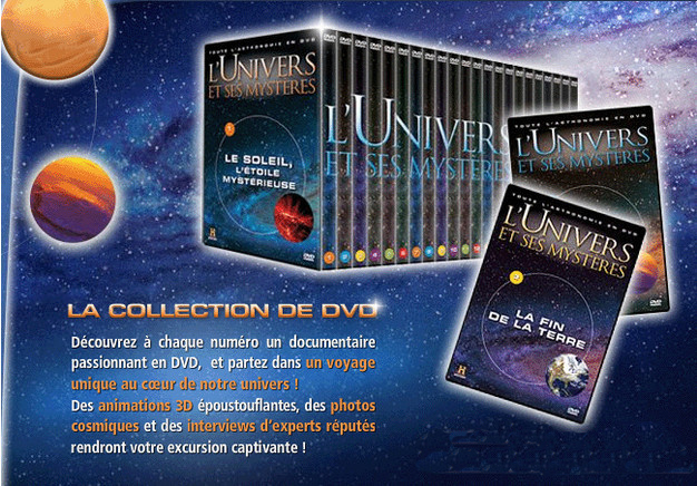 [FS]      Collection L'univers Et Ses Mysteres Pack1         [DVDRIP  FR]