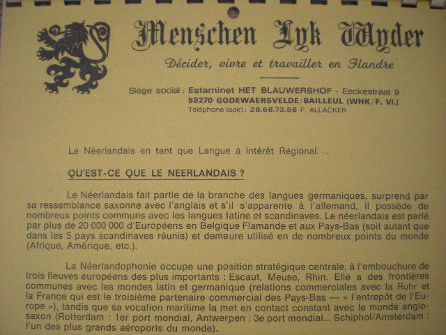 Geschiedenis van de Frans-Vlaamse beweging 110211092413970737628768