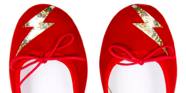 Zara flash rouge repetto