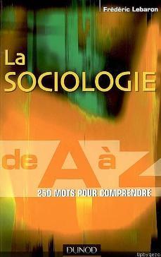 La Sociologie de A à Z [MULTI]