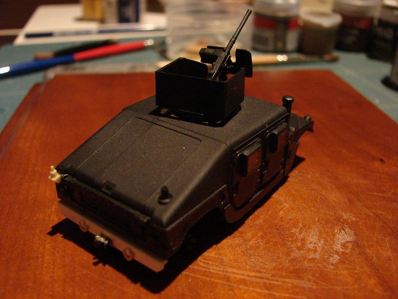 "Humvee ""Irak"" conversion sur base revell 1/72 1102211016351151537691572"