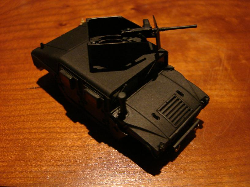 "Humvee ""Irak"" conversion sur base revell 1/72 1102211016461151537691588"