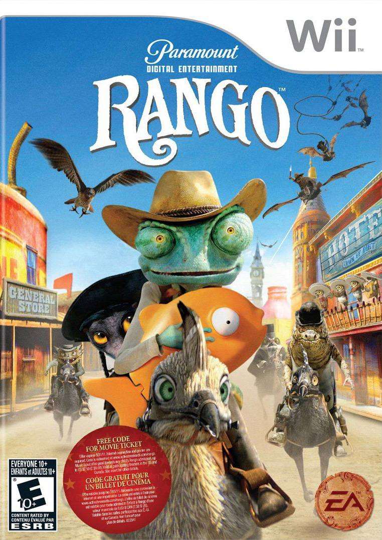 Rango: The Video Game Poster